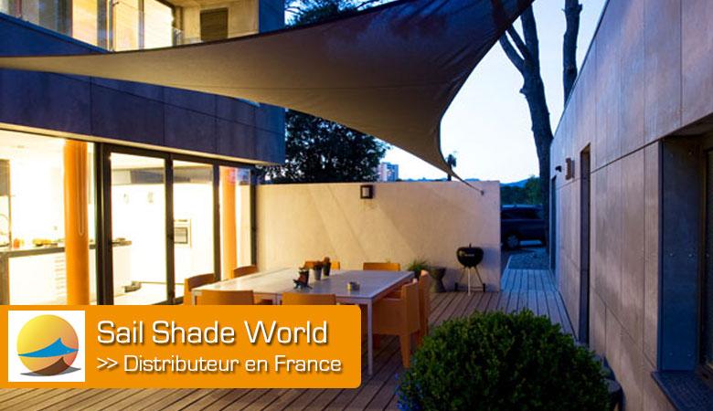Sail Shade World - Commande de voile d'ombrage en ligne et livraison sous 7 jours